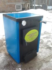Продам двухконтурный твердотопливный котел «Тепловичок БПВ-12+водонагр