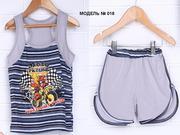 Майка,  тенниска,  шорты,  бриджи: летние детские комплекты
