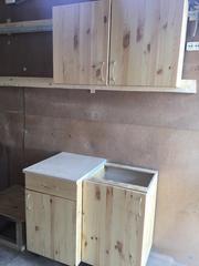 Купить кухню из дерева Экомакс недорого