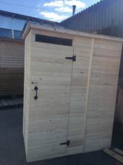 Летний душ деревянный,  душ для дачи дерево