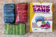 Уникальный цветной кинетический песок,  Швеция