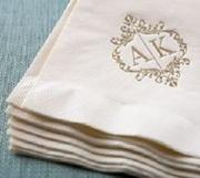 Полотенца с вышивкой на заказ,  заказать логотип на полотенце