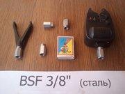 Рыбацкая гайка,  болт для Род Пода BSF 3/8 дюйма (для вкручивания)