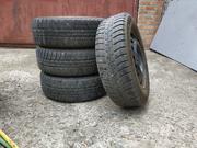 Продам четыре колеса Michelin Alpin 185 / 65 R 14,  4х100,