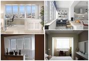 Присоединим балкон (лоджию) к комнате