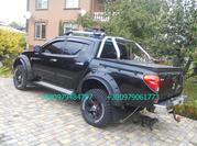 Крышка багажника Mitsubishi L200. Тюнинг l200. Трехсекционная крышка