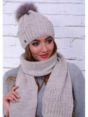 Распродажа вязаных комплектов,  женских шапок