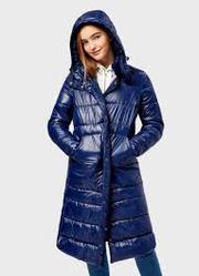 Прямое пальто с капюшоном O'STIN LJ6S1I