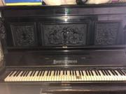 Антикварное пианино Smidt&Wegener конца XIX века