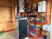 Электроподключение котла,  насосов,  сервоприводов,  датчиков
