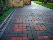 Услуги по укладке тротуарной плитки,  на частных участках,  домов и т. д