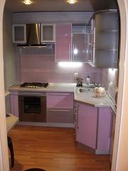 Кухни,  шкафы-купе,  гардеробные комнаты на заказ в Харькове
